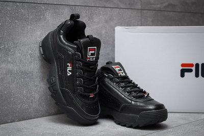 1fe97e1f Кроссовки женские Fila Disruptor II Black, черные, р. 36 - 40: 1265 ...