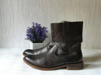 Мужские кожаные ботинки george
