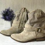 Моднейшие замшевые ботиночки