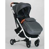 Прогулочная коляска Baby YOGA M 3910-11 аналог Yoya Plus2 серая