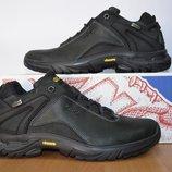 Кожаные мужские кроссовки Экко.