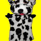 Игрушки мягкие Куклы перчатки Бурёнка коровка