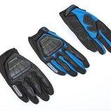 Мотоперчатки текстильные с закрытыми пальцами и протектором Scoyco MС08 размер M-XL, 2 цвета