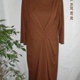 Элегантное платье шоколадного цвета jasper conran