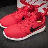 кроссовки Nike Roshe Two, 40,41,42,43,44,45 размер, красные, новинка