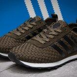 Кроссовки Adidas Lite, хаки 36,37,38,39,40,41 размер унисекс подростковые беговые облегченные
