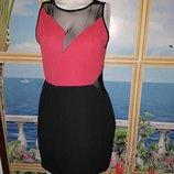 Классное короткое секси платье,р-р 16, евро 44,на наш 50-52,новое