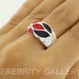 10% скидка подписчикам I 100604 R.W.Bk 19 кольцо серебряное кольцо размер 19