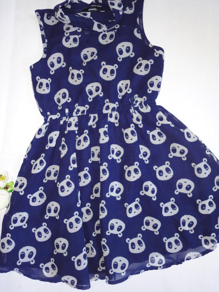a9aeb2cd0aa03be Платье синее в мишках 7-8 лет George пог 35, дл.66 : 140 грн - платья и  сарафаны для девочек в Киеве, объявление №18561748 Клубок (ранее Клумба)