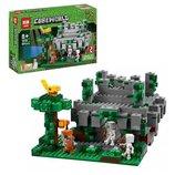 Конструктор Lepin Minecraft 18026 Храм в джунглях Cubeworld аналог Lego Майнкрафт Minecraft 21132 4