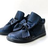 Ботинки для девочки, синие