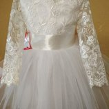 Новинка Роскошное нарядное платье для вашей принцессы.