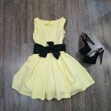 Платье вечернее нарядное коктельное XS