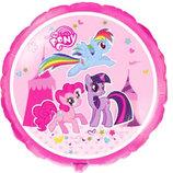 Фольгированный шар My Little Pony май литтл пони