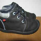 Ботінки черевички брендові шкіряні ELEFANTEN Оригінал р.19 стелька 12 см