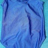 roch valley голубое трико для танцев гимнастики спортивная