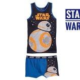 Комплект трусики боксеры Star Wars для мальчика 3-8 лет Супер качество. Большой выбор белья