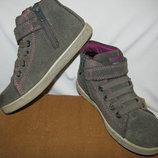 Ботінки черевички італійські теплі шкіряні брендові Twisty-TEX® Оригінал р.29 стелька 19 см