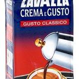 Молотый кофе Lavazza Crema e Gusto Classico Упаковка 250 гр.