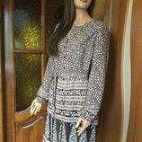 Платье рубашка moonsoon 16 размер