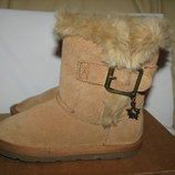 Сапожки чобітки нові брендові шкіряні Next Оригінал р.8 стелька 16,5 см