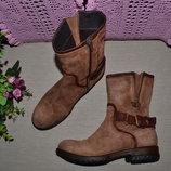 Р. 37 - 24,5 см. 030berlin. Полусапожки, ботинки фирменные оригинал