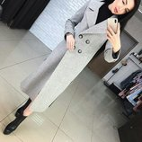 Стильное шерстяное женское пальто Дания