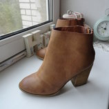 Рыжие ботинки Blank Ny
