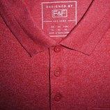 Мужская футболка сочная меланж поло F&F XL asos burton