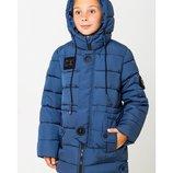 Зимнее пальто для мальчика длинная куртка