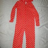 кигурими плюшевый детский, слип пижама человечек на девочку 9-10 лет Minnie Mouse