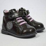 Ботинки BI&KI арт. В-3937-В, серый Демисезонные ботинки для девочки
