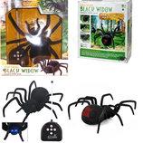 Игрушка гигантский паук на радиоуправлении Черная Вдова 779 длина 28см