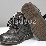 Демисезонные детские ботинки для девочек 22р 23р 24р 3859