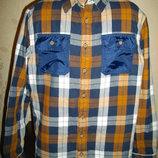 Продаю рубашку- стеганку M&S, 11-12 лет.