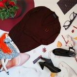 Брендовый свитер Fred Perry, натуральный кашемир, размер XS/S