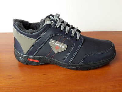Ботинки мужские зимние синие спортивные - черевики чоловічі зимові сині