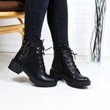 Ботинки на шнуровку
