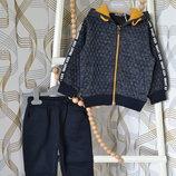 Утеплённый спортивный костюм на мальчика 1 год, 2 года, 3 года