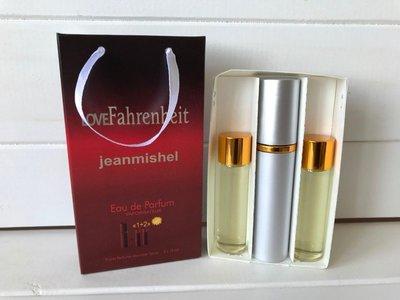 Christian Dior Fahrenheit edt 3x15ml для мужчин