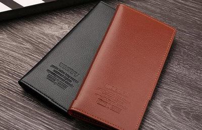 Классический деловой мужской кошелек портмоне В Наличии