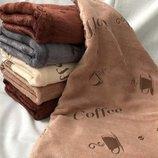 Кухонные полотенца Кофе 25х50 см микрофибра