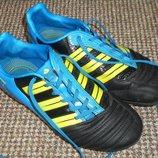 1076. Бутсы футбол adidas predator. Размер 36,5 - 37