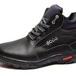 Ботинки зимние для мужчин, прошитые на спорт. подошве