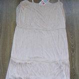 Платье кремовое H&M