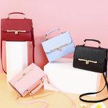 Стильная Fashion сумка сундук с красивой застежкой В Наличии