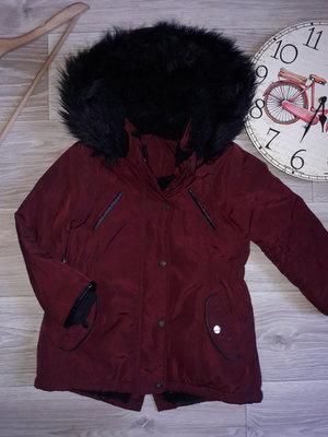 Стильная куртка парка YD 104 см 3-4 г