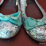 Женские туфли балетки 38 размер