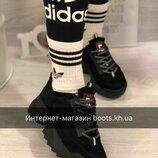 Замшевые,кожаные кроссовки в стиле Fila натуральный замш