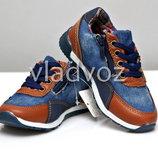 Детские кроссовки для мальчика синие 26р.-31р. 3880